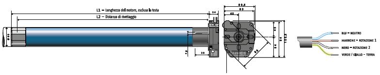 Schema Elettrico Per Apricancello : Schema elettrico per finecorsa motoriduttore